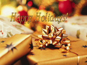 Holiday Package free digital signage content
