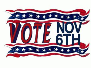 Vote November 6 free digital signage content
