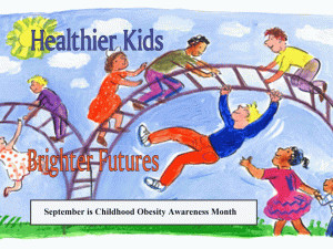 Childhood Obesity Awareness Month free digital signage content