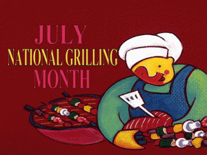 National Grill Month free digital signage content