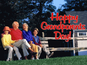 Grandparents Day free digital signage content