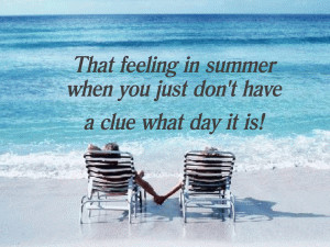 Relax - Its Summer free digital signage content