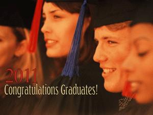 Congratulations Graduates free digital signage content