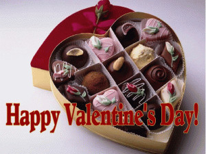 Happy Valentines Day Candy free digital signage content