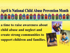 Child Abuse Prevention Month-April free digital signage content