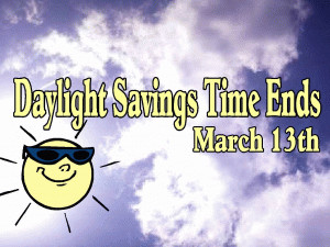 Daylight Savings - March 2011 free digital signage content