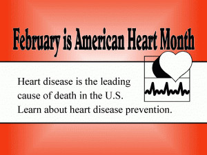 American Hearth Month free digital signage content