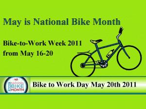 Bike Month-Month free digital signage content