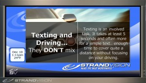texting safety background
