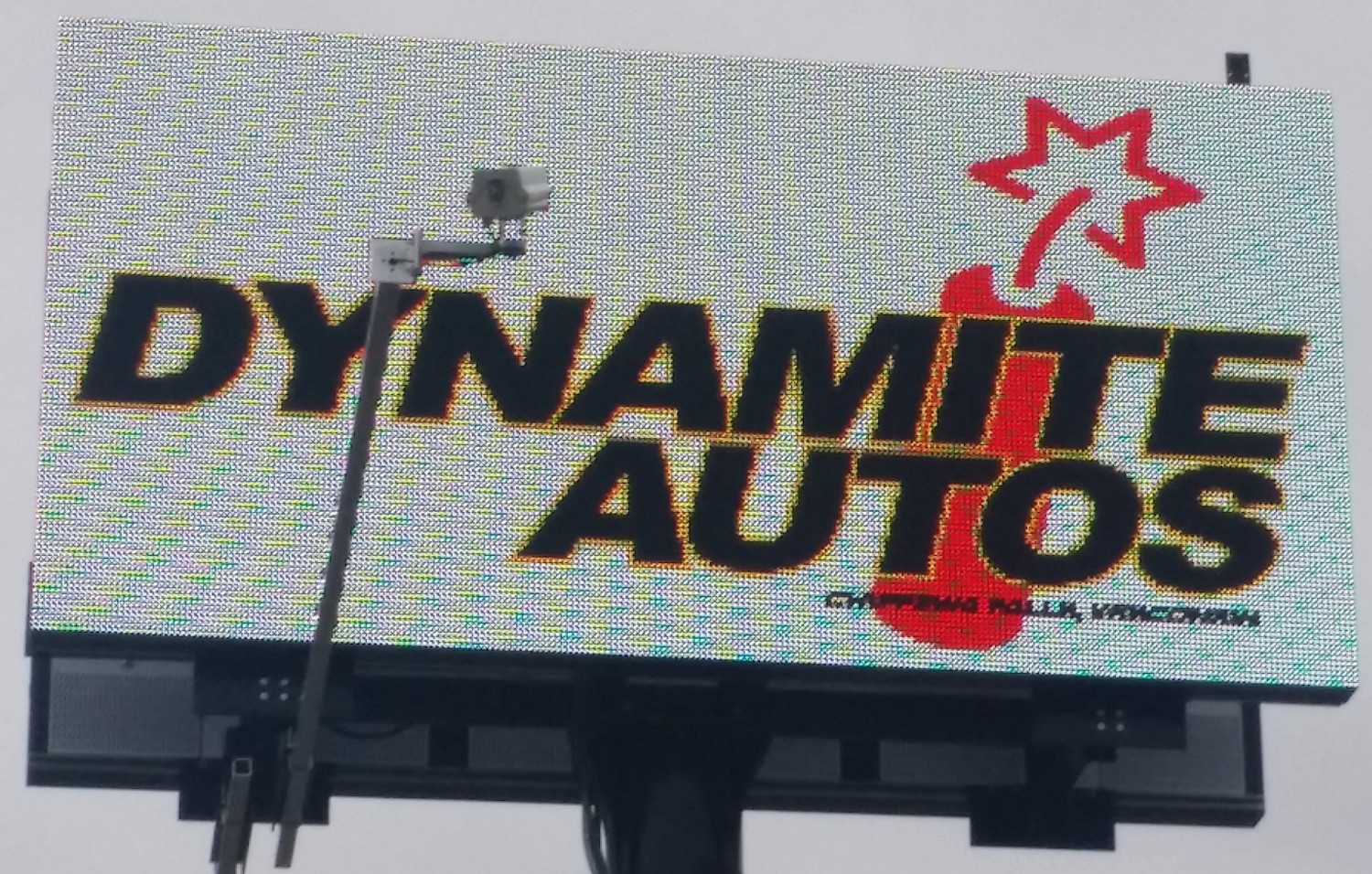 Completd Outdoor Billboard