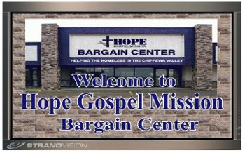 A welcome introduction to Hope Gospel Bargain Center