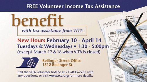 volunteer tax assistance promotion