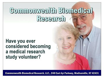 medical research volunteer