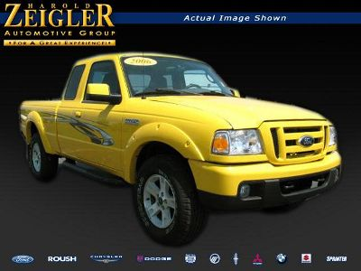 Yellow Ford Truck
