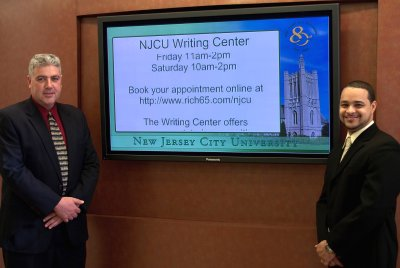 njcu student center digital signage