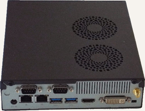 Linux Player Rear