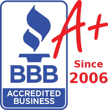 BBB A+ Certified since October 11, 2006