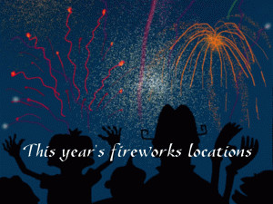 Fourth of July Events Intro free digital signage content