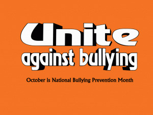 Unite Against Bullying free digital signage content